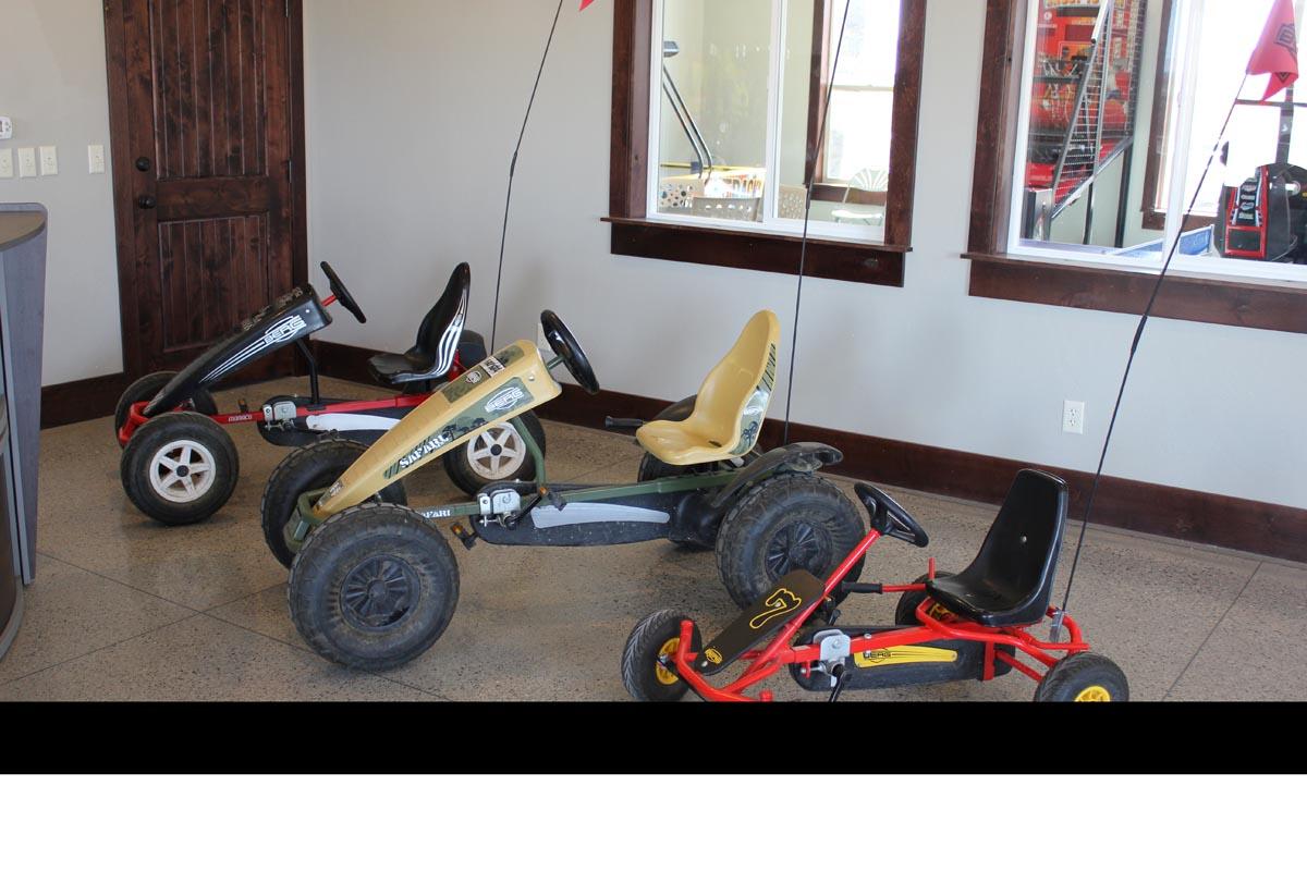 Pedal Cart rentals